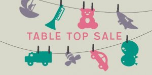 Baby and Toddler Table Top Sale