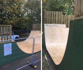 Oundle Halfpipe Finished & Open on Tuesday 27 October 2020